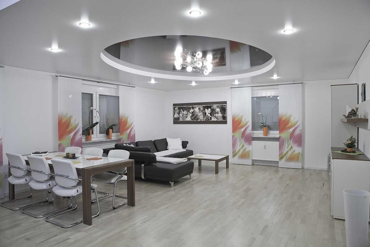 Napinany strop v kancelářích a domácnostech