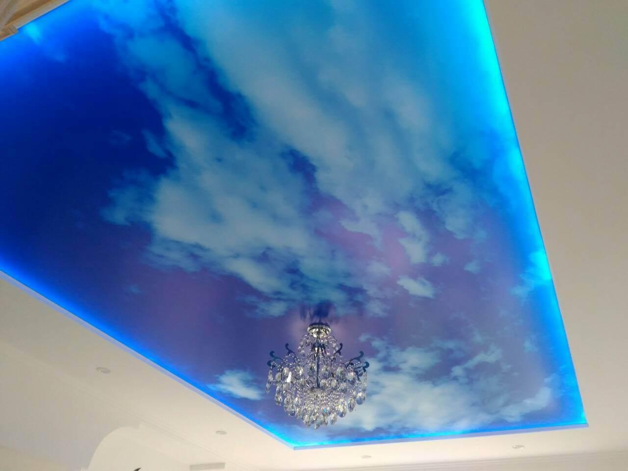 napinane stropy cena